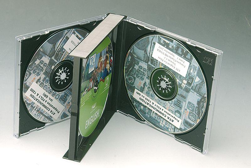 boitier 4 cd