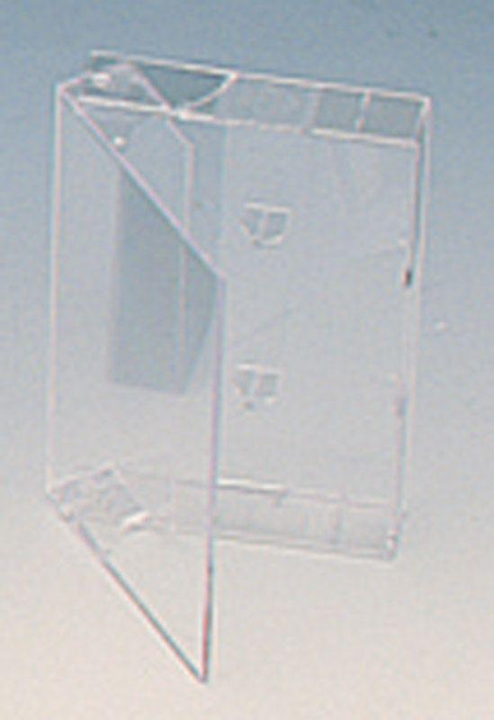 Boitiers K7 audio en PVC injecté