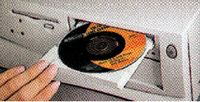 CD nettoyant de lentille