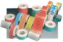Etiquettes polypro en rouleau