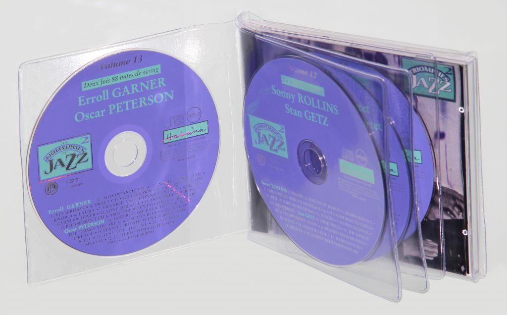 Etuis CD multiple avec soufflet
