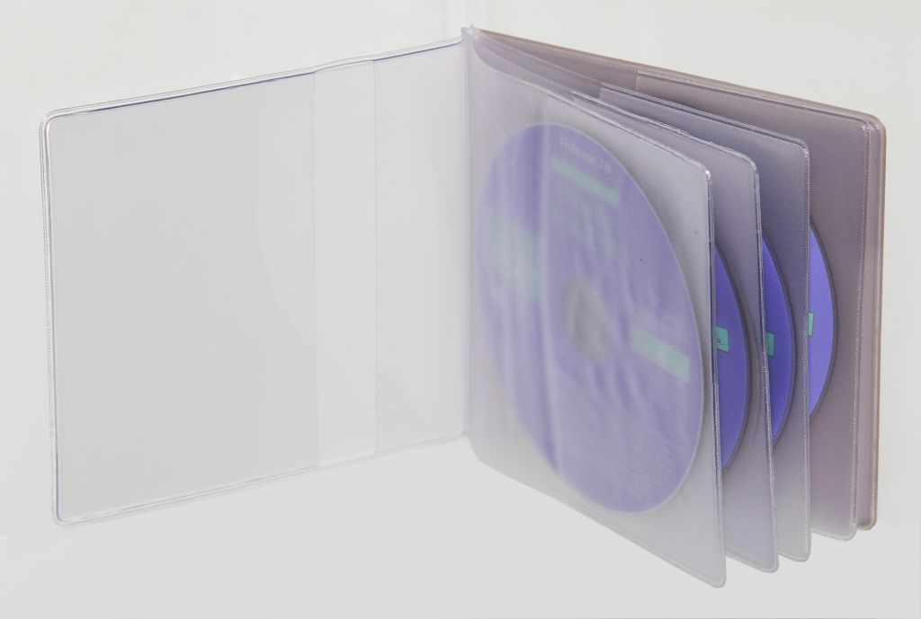 Etuis CD rigide en PVC