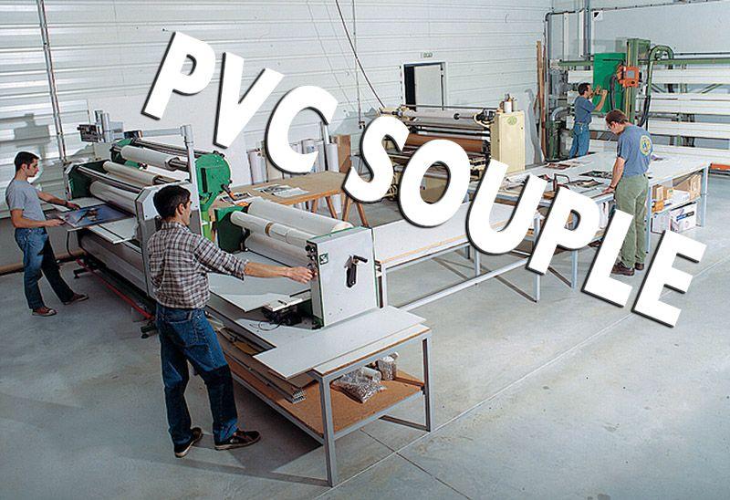 plastification pvc souple