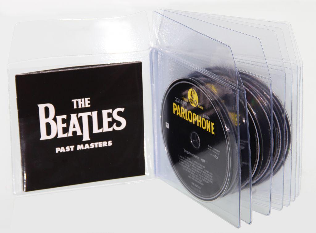 Pochettes CD multipoches avec rabat