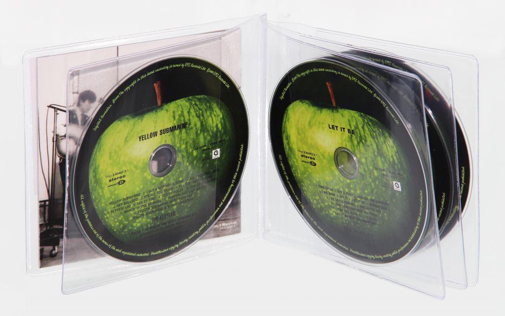 Reliures CD multi-volets PVC souple avec ou sans onglet