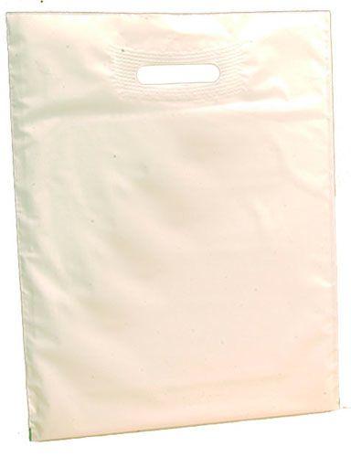 Sacs neutres polyethylene blanc