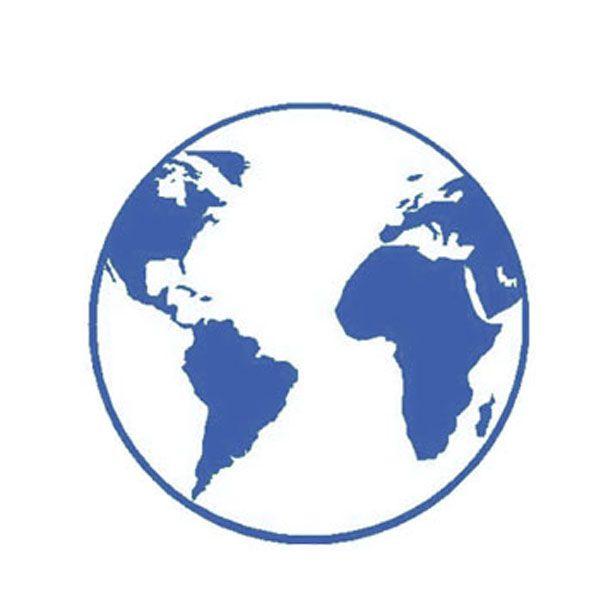 symbole terre bleue