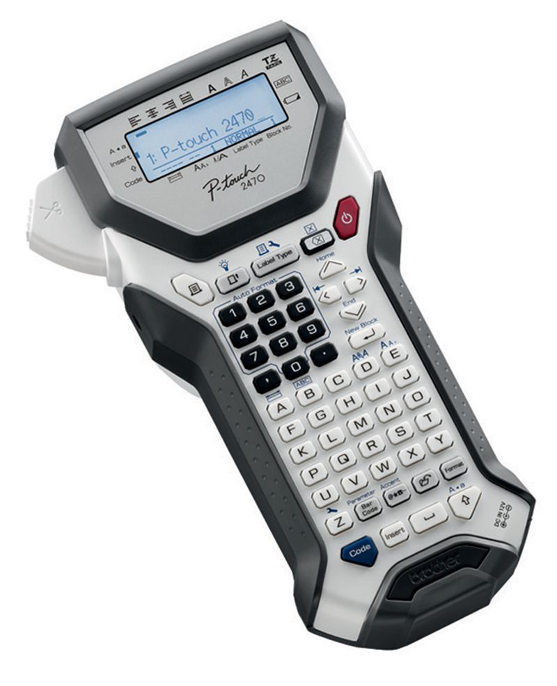 titreuse p-touch 2470