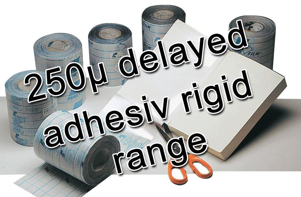 Eurefilm '250' delayed action adhesive