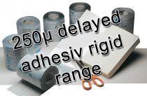 Eurefilm '250' delayed adhesive rigid range