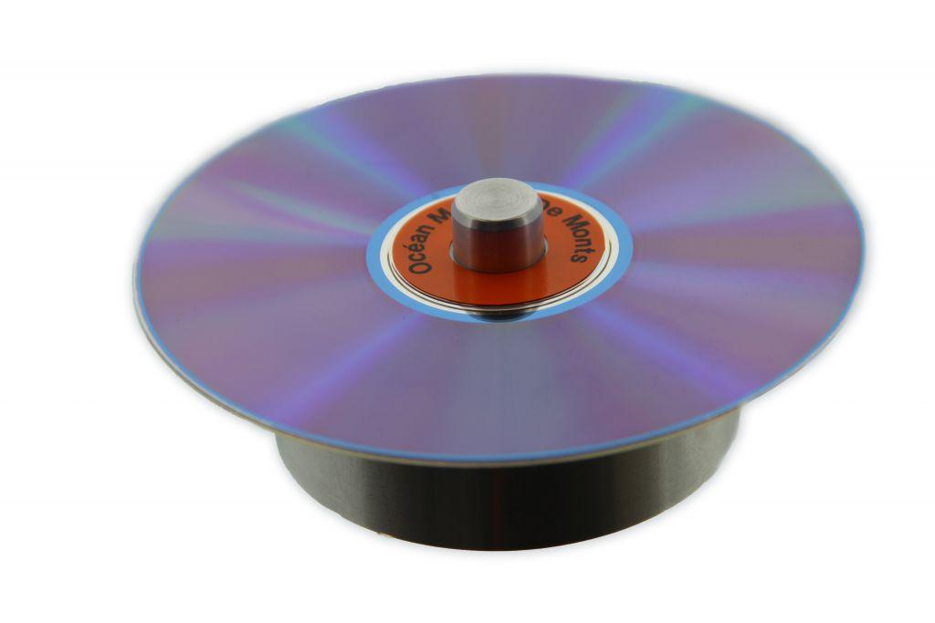 Centreur métalique pour rondelle CD et DVD