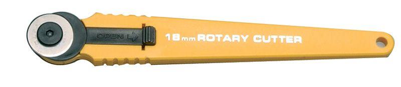 cutter lame tournante 18 mm
