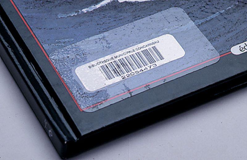 Etiquettes transparentes de protection