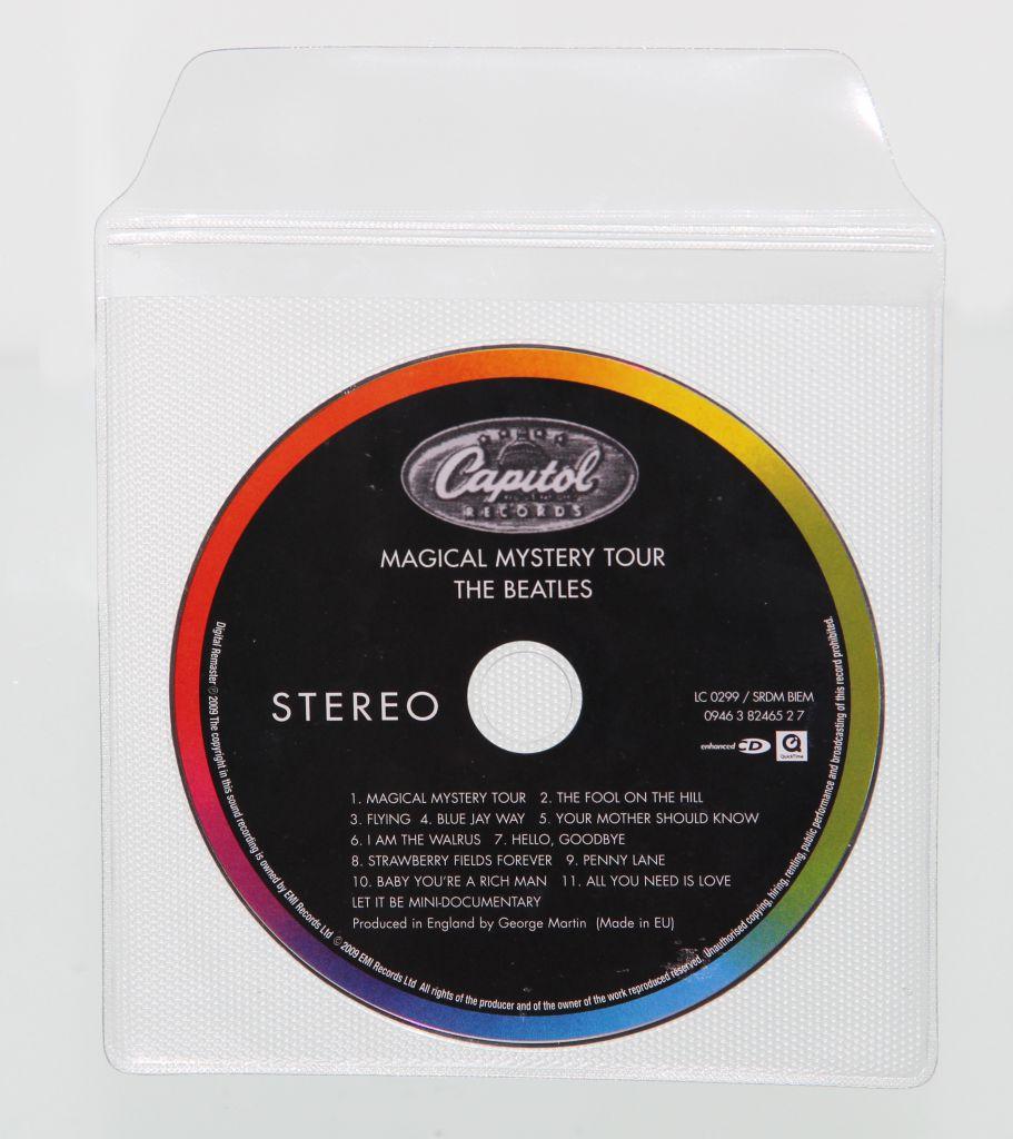 Etuis CD à plasto intégré