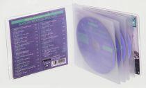 Etuis CD multi-volets semi rigide INT. papier non tissé ou PVC