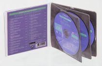 Etuis CD rigide en feutrine
