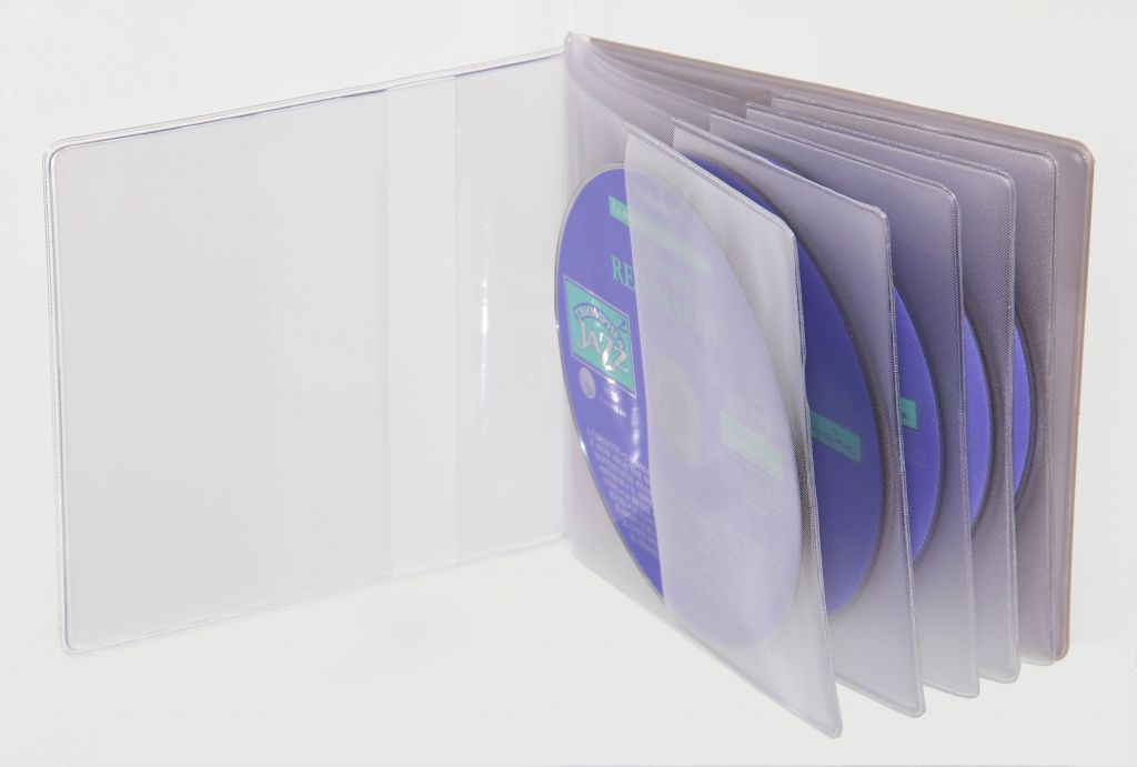 Etuis CD rigide en PVC