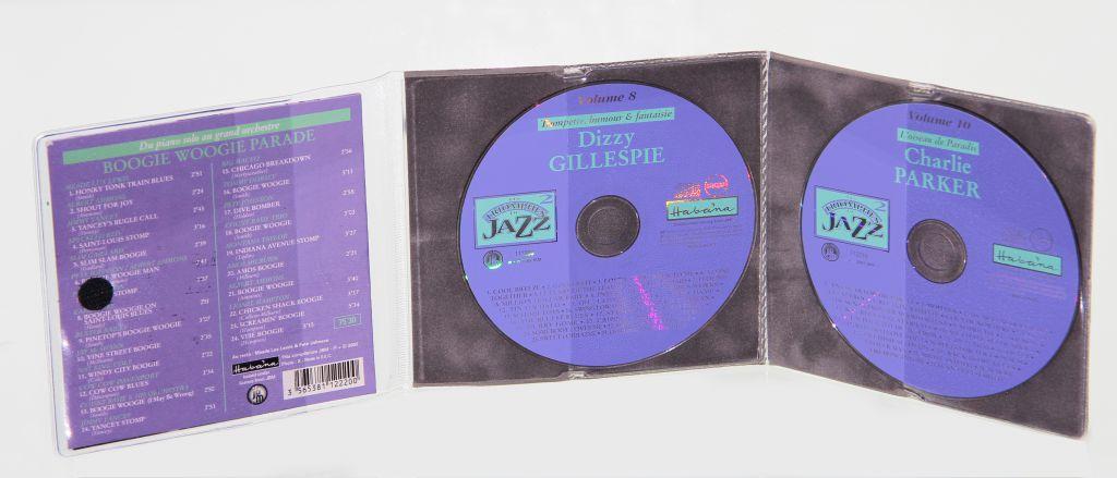 Etuis CD sans soufflet en feutrine