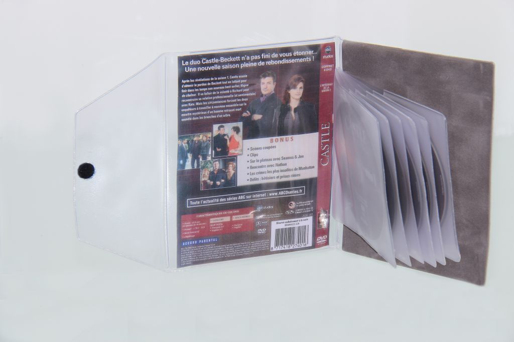 Etuis DVD feutrine ou PVC