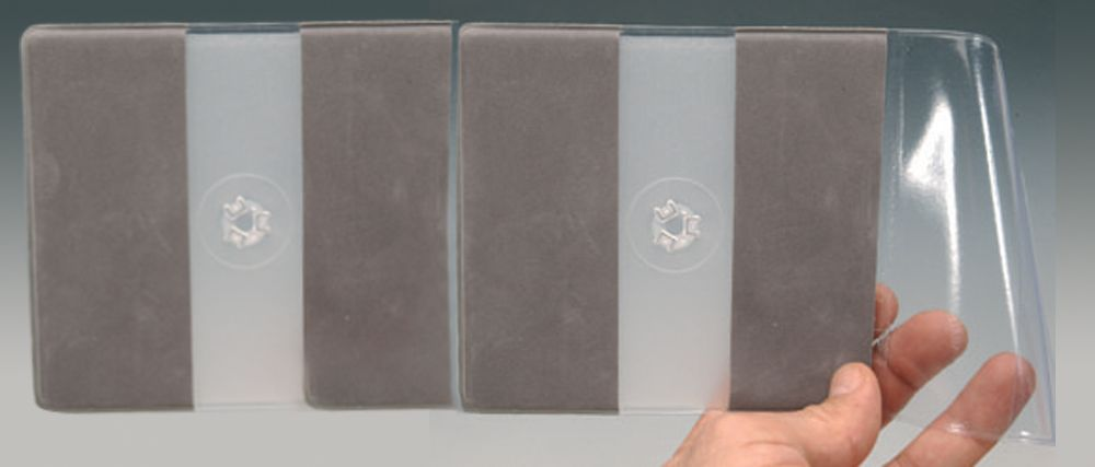etuis souple 2 cd plateau rigide
