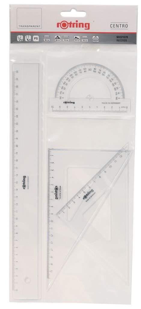 Flexible flat ruler