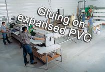 Gluing on expanded PVC