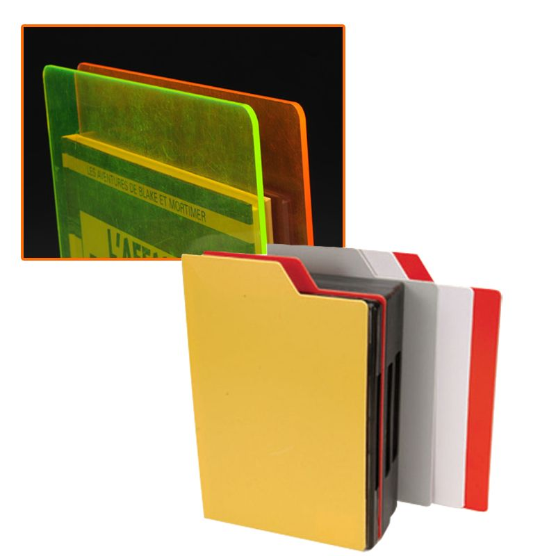 intercalaire fluo dvd