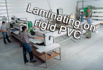 Laminating on rigid PVC