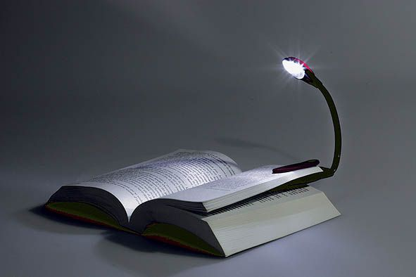 Lampe de lecture flexible à led