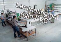 Plastification sur PVC rigide