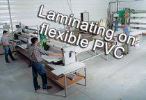 Plastification sur PVC souple