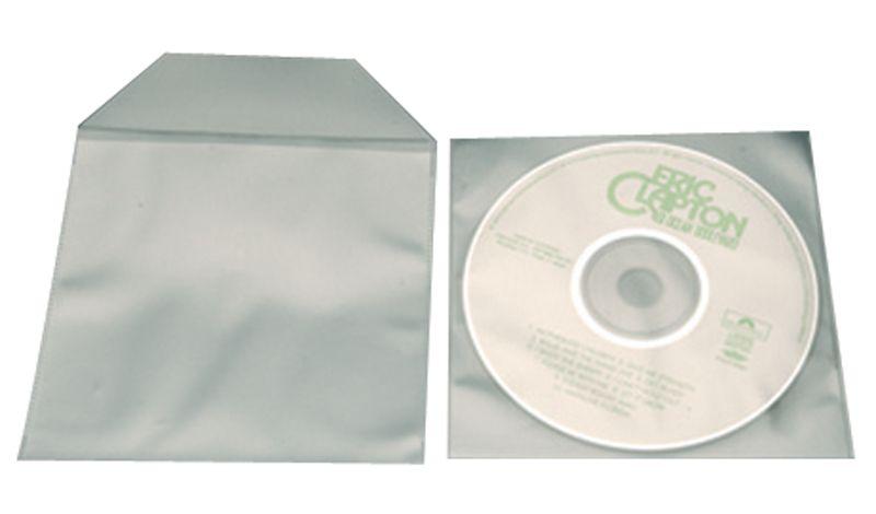 Pochettes CD plasto