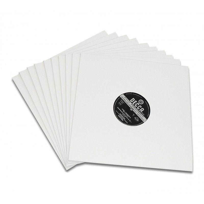 Pochettes polyéthylène et carton pour disque vinyle 33T