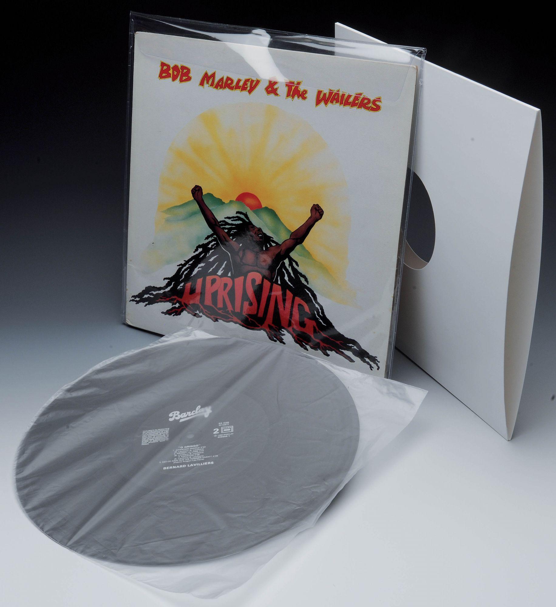 Pochettes PVC pour disque vinyle 33T
