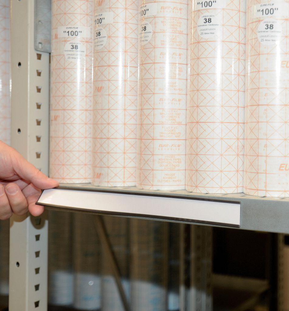 Porte-étiquettes magnétique